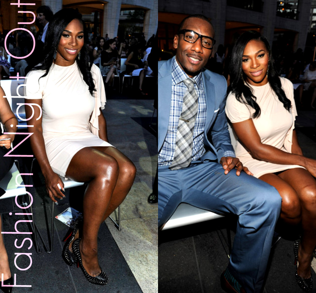 Fashion Night Out Amar e Stoudemire and Serena Williams