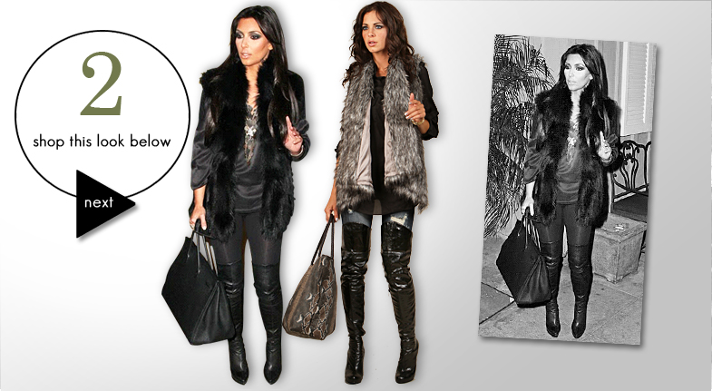 kim kardashian style for less. Shockboutique emulates Kim K#39;s